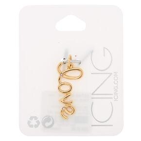 Gold Love Charm,