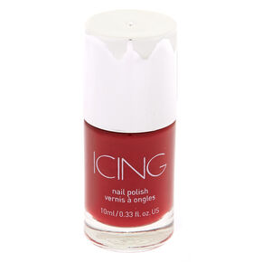 Solid Nail Polish - Red Garnet,