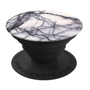 White Marbled PopSocket,