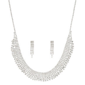 Jewel Necklace & Earring Set,