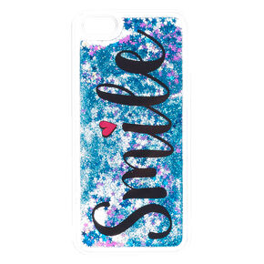 Smile Liquid Fill Stars Phone Case - Fits iPhone 6/7/8,