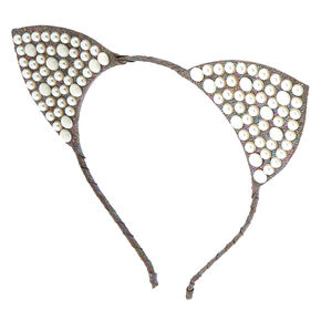 Pearl Cat Ears Headband,