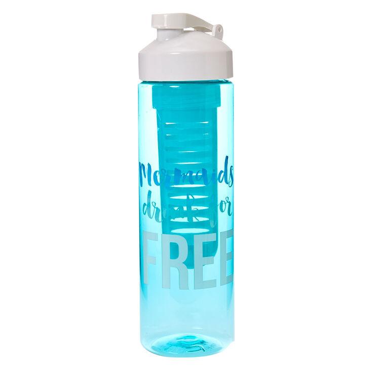 Mermaid Drink Infuser Water Bottle,