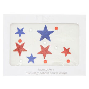 Glitter Star Face Stickers,
