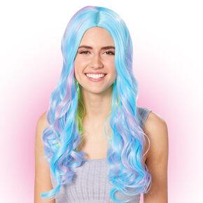 Multi-Colored Neon Curly Wig,