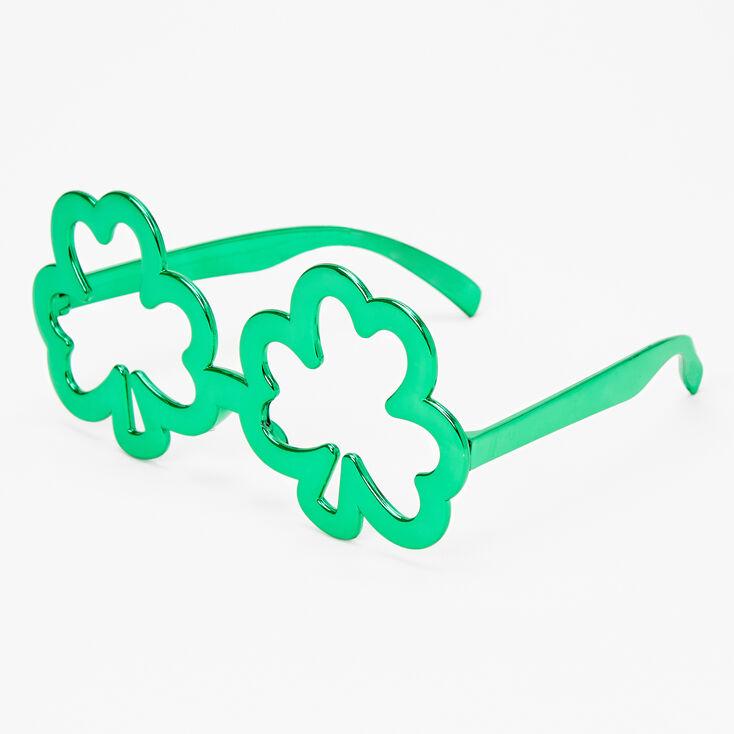 Green Shamrock Glasses,