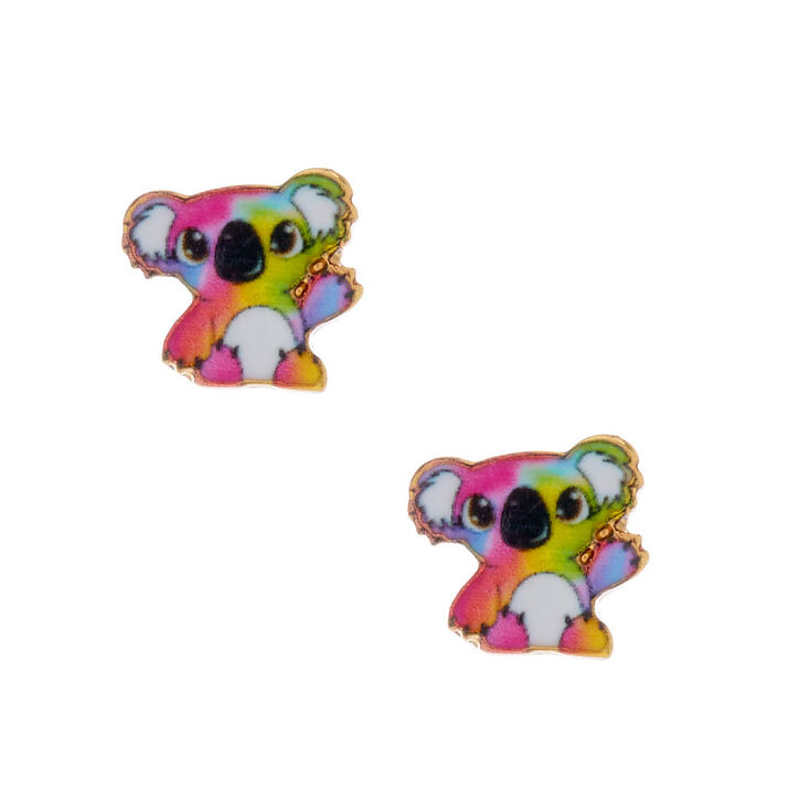 18kt Gold Plated Kylie the Koala Stud Earrings,