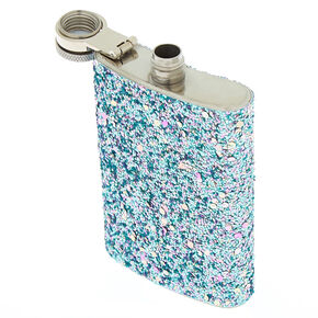 Glitter Flask - Blue,