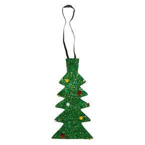 Christmas Tree Neck Tie - Green,