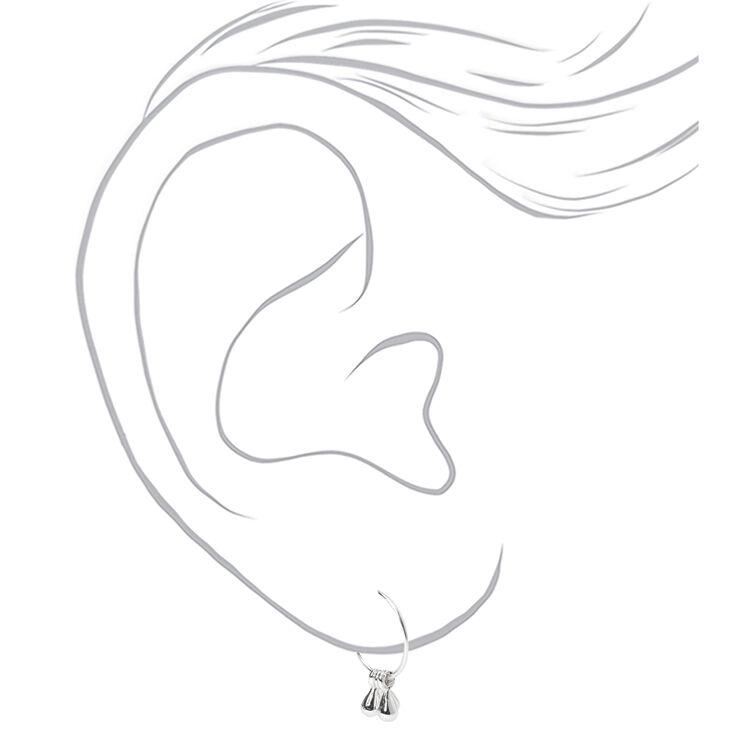 Silver Boho Beaded Mixed Earrings - 6 Pack,