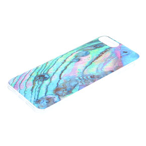 Blue Seashell Protective Phone Case - Fits iPhone 6/7/8 Plus,