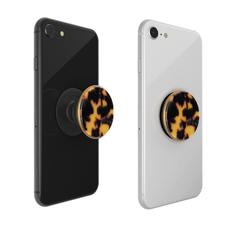 PopSockets Swappable PopGrip - Tortoiseshell,