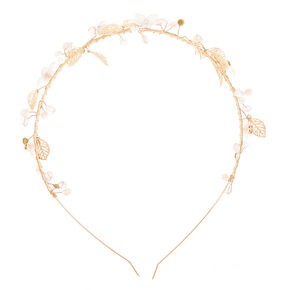 Gold Daisy Vine Headband,
