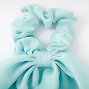 Small Hair Scrunchie Scarf - Mint,
