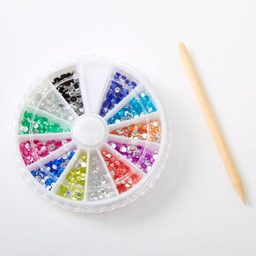 Rainbow Gems Nail Art Wheel,