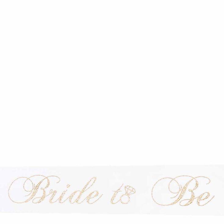 Bride To Be Sash,