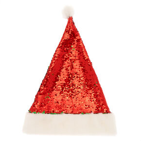 Reversible Sequins Santa Hat,