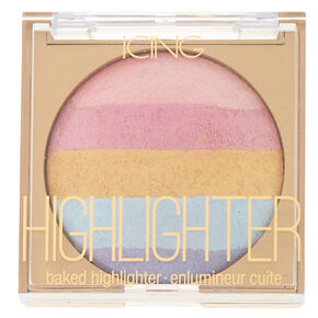 Unicorn Glow Rainbow Striped Highlighter,