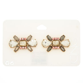 Antique Gold Embellished Shoe Clips - 2 Pack,