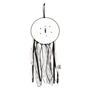 Large Black & White Dreamcatcher,