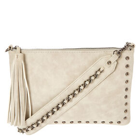 Grey Guitar Strap Cross body Purse,
