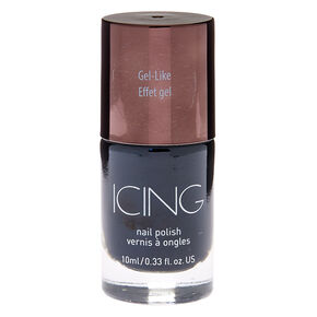 Gel-Like Nail Polish - Black,