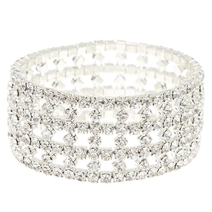 Pave Stone Woven Bracelet,