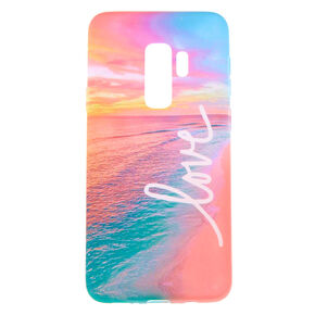Love Beach Phone Case - Fits Samsung Galaxy S9,