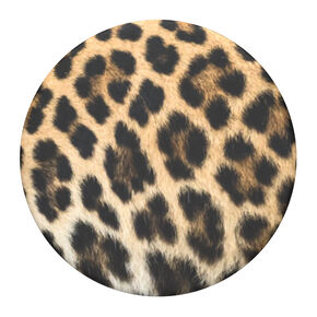 PopSockets Swappable PopGrip - Leopard Print,