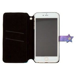 Anodized Star Folio Phone Case - Fits iPhone 6/7/8 Plus,