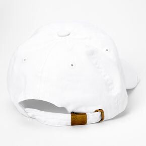 2021 Graduation Baseball Cap - White,