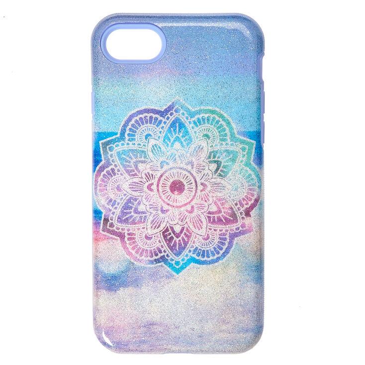 Shimmer Beach Mandala Phone Case,
