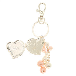 Best Mom Ever Locket Keyring,