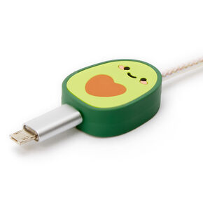 MojiPower® Avocado Cable Protector - Green,