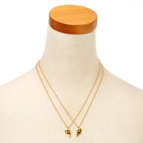 Gold-Tone Best B*tches Necklace Set,