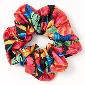 Medium Tropical Hair Scrunchie,