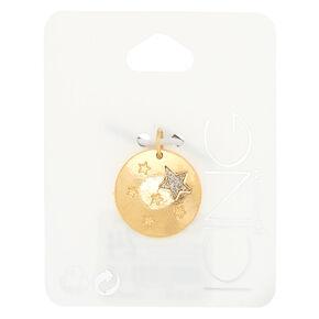 Gold Star Charm,