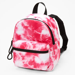 Pink Tie Dye Small Backpack,