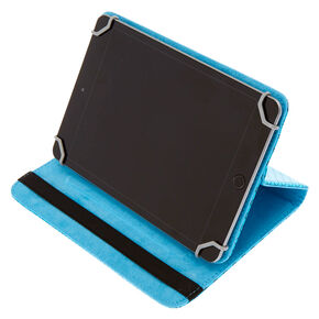 "8"" Metallic Mermazing Universal Tablet Folio Case,"