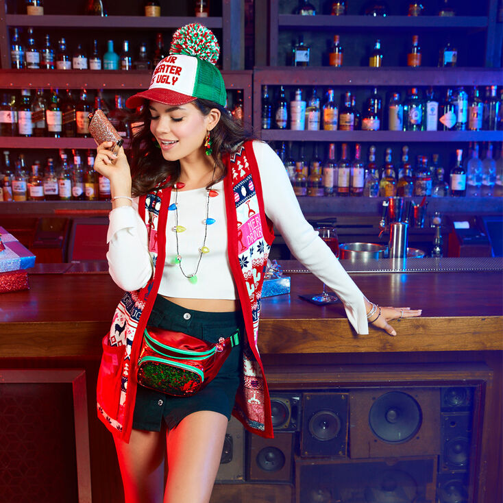 Ugly Sweater Party Accessories Set,