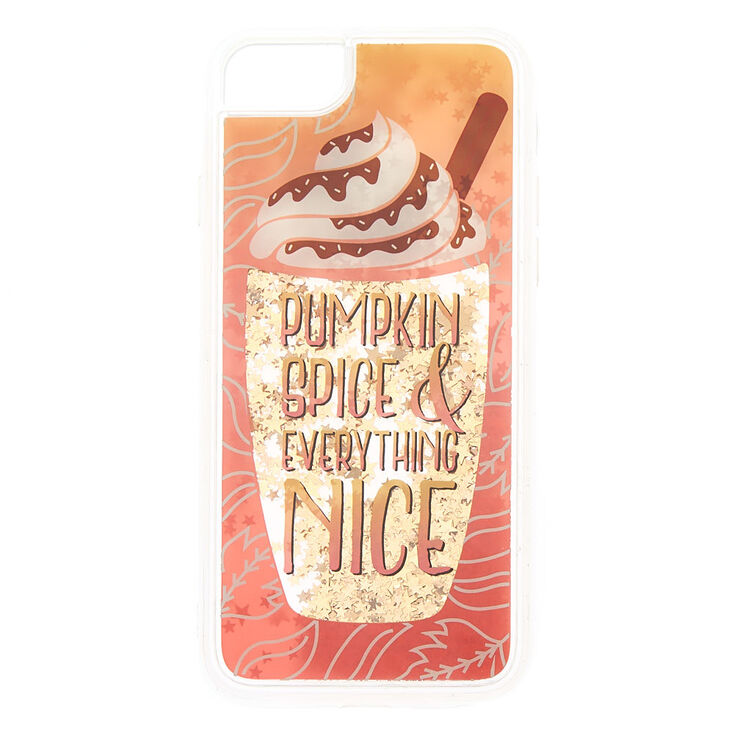 Pumpkin Spice Phone Case - Orange,