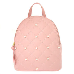 Pearls Mini Backpack - Pink,