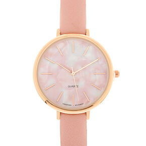 Marble Classic Watch - Pink,