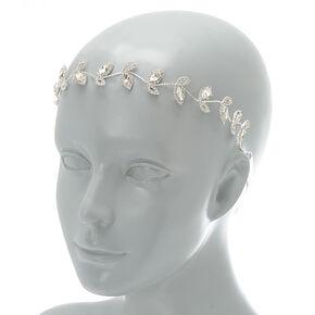 2-In-1 Vine Belt & Headwrap - Silver,