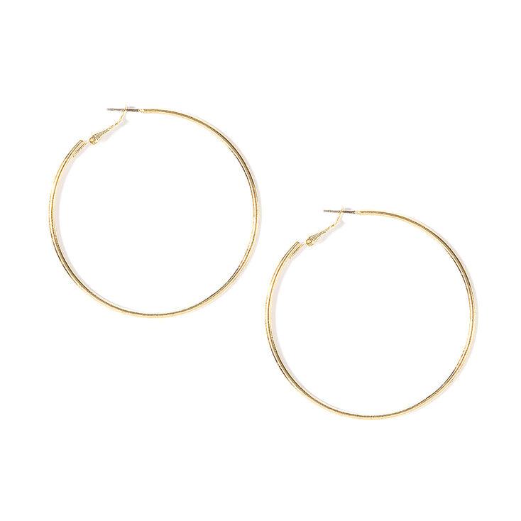 Gold 50MM Hoop Earrings,