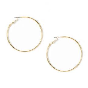 Gold 60MM Hoop Earrings,