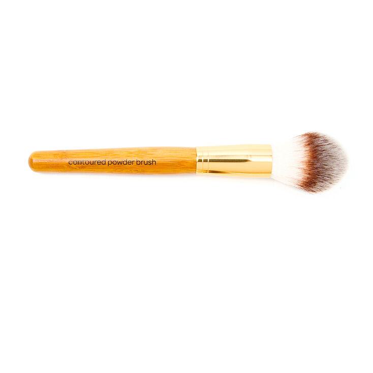 Bamboo Contoured Powder Brush,