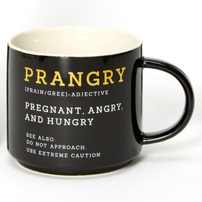 Prangry Mug - Black,