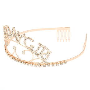 Birthday Girl Tiara - Rose Gold,