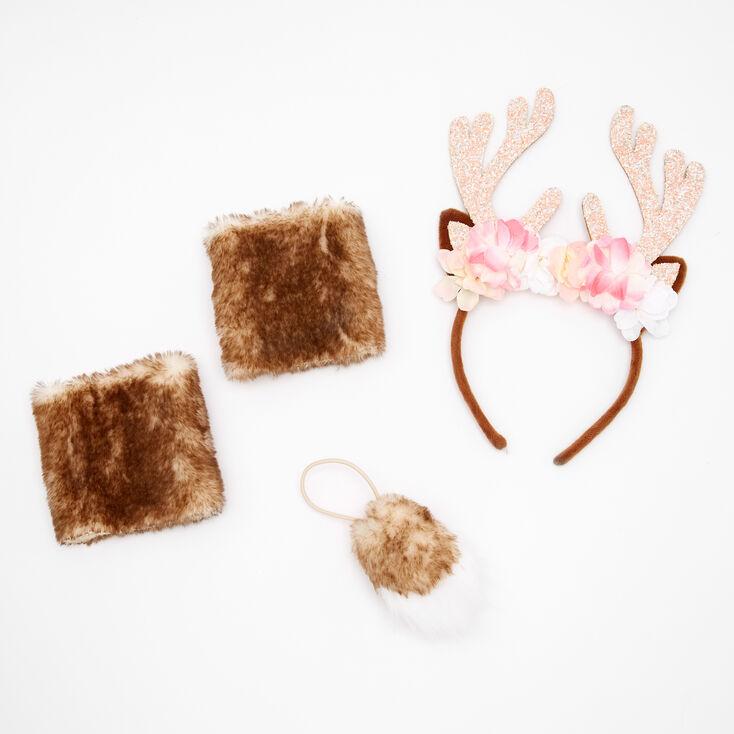 Deer Dress Up Set - Brown, 3 Pack,